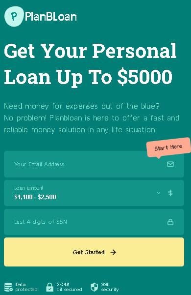 Plan B Loan